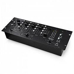 4–kanálový DJ mix Skytec STM3001 s funkciou predposluchu, ho