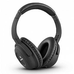 Auna ANC-10 slúchadlá, tlmenie hluku, pevný obal, adaptér
