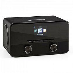 Auna Connect 100, internetové rádio, mediálny prehrávač, bluetooth, WLAN, USB, AUX, linkový výstup