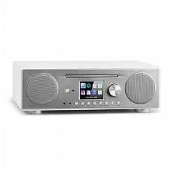 Auna Connect CD, internetové rádio, mediálny prehrávač, BT, MP3, DAB+, Spotify, connect radio, biele