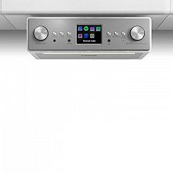 """Auna Connect Soundchef, kuchynské rádio, inštalovateľné na spodnú stranu skrinky, internet, DAB+, FM, 2x3"""" reproduktory, biele"""