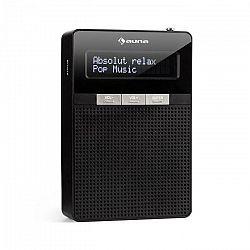 Auna DigiPlug DAB, rádio do zásuvky, DAB+, FM/PLL, BT, LCD displej, čierne