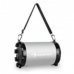 Auna Dr. Silver Boom 2.1- bluetooth reproduktor, USB, SD, AUX, akumulátor