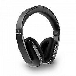 Auna Elegance Bluetooth-NFC slúchadlá, aptX, nabíjacia batéria, handsfree, syntetická koža, čierna farba