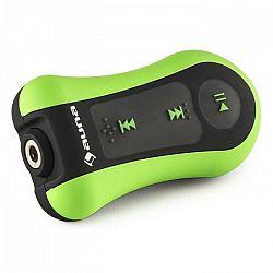Auna Hydro 8, zelený, MP3 prehrávač, 8 GB, IPX-8, vodotesný, úchytka, vrátane slúchadiel