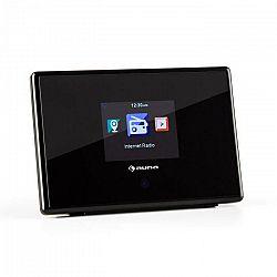 """Auna iAdapt 240, čierny, adaptér internetového rádia, WLAN, 2,4"""" TFT farebný displej, linkový výstup"""