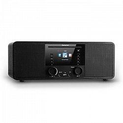 Auna IR-190, internetové rádio, CD prehrávač, WiFi, UPnP, USB, diaľkový ovládač, čierne