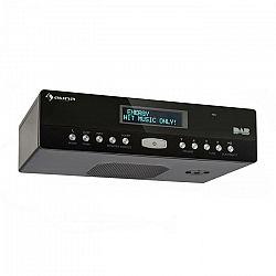 Auna KR-100 DAB, kuchynské rádio, zabudovateľné, DAB+, bluetooth, mikrofón