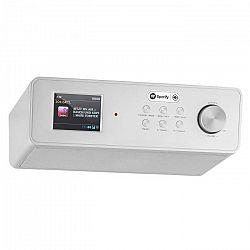 Auna KR-200, strieborné, kuchynské rádio, zabudovateľné, WiFi, DAB+
