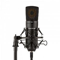 Auna Pro MIC-920B, USB kondenzátorový mikrofón, štúdiový, veľkomembránový, čierna farba