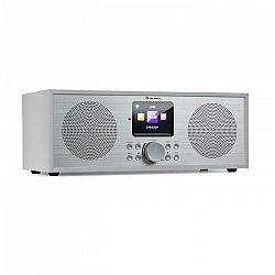 Auna Silver Star Stereo, internetové DAB+/FM rádio, WiFi, BT, DAB+/FM, biele