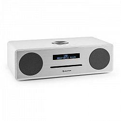 Auna Standford DAB-CD-rádio DAB+ bluetooth USB MP3 AUX FM, biela