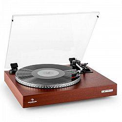 Auna TT-931, gramofón, drevený dizajn