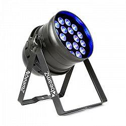 Beamz BPP100 PAR 64, LED reflektor, 18 x 6 W, RGBW, 60 W, čierny