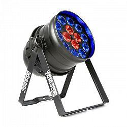 Beamz BPP225 PAR 64, LED reflektor, 6v1 LED diódy, RGBWA-UV, 200 W, čierny