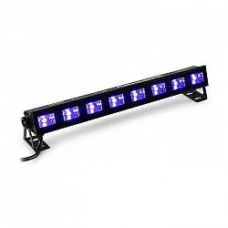 Beamz BUVW83, LED svetelná rampa, 8 x 3 W, UV/WW, 2 v 1, 30 W, Plug & Play, tichá prevádzka