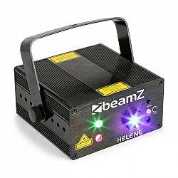Beamz Helene Double Laser RG, dvojitý laser, multibodový, IRC, 3W, modré LED svetlo