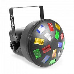 Beamz LED Mini Mushroom 6x 3W RGBWA LEDiek, automatický režim a režim ovládania pomocou hudby