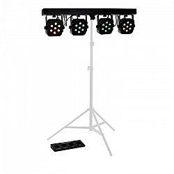 Beamz LED PARBAR 4 Way, 7x 10 W, quad LED svetelný efekt
