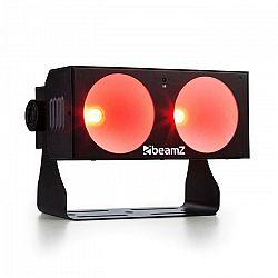 Beamz LUCID 1.2 LED svetelný efekt 2x 10W COB LEDky