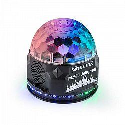 Beamz PLS10 Jellyball, 3 x 1 W a LED kruh so 48 RGB LED diódami , BT, MP3 prehrávač