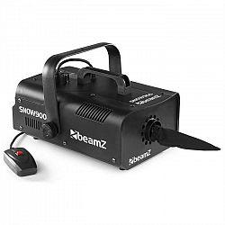 Beamz SNOW 900 snehostroj Snowmachine 900W 1l nádrž strieborná/čierna