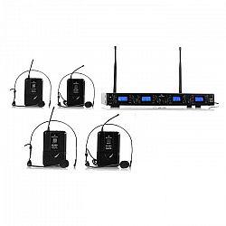 Bezdrôtový mikrofónový set Malone UHF-550 Quartett2