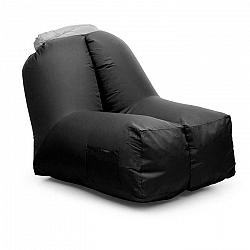 Blumfeldt Airchair, nafukovacie kreslo, 80 x 80 x 100 cm, ruksak, prateľné, polyester, čierne