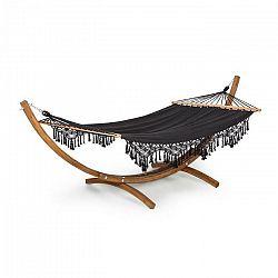 Blumfeldt Bali Swing, hojdacia sieť, smrekovec, 160 kg max., 320 g/m², čierna