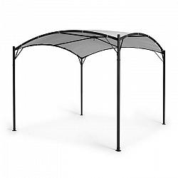 Blumfeldt Castello, pavilón, 3,5x3,5m, 250G, polyester, oceľ, čierna/sivá
