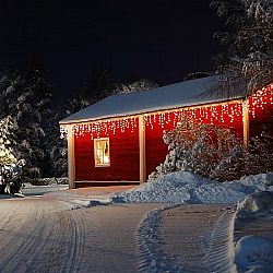 Blumfeldt Dreamhome SM16W, teplá biela, 16 m, 320 LED, vianočné osvetlenie