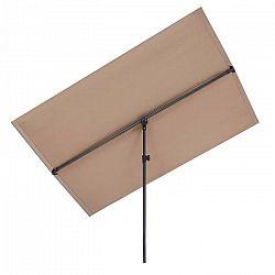 Blumfeldt Flex-Shade XL, slnečník, 150 x 210 cm, polyester, UV 50, sivohnedá