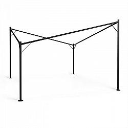 Blumfeldt Sombra, pergola, kovový rám, 4 x 4 m, príslušenstvo