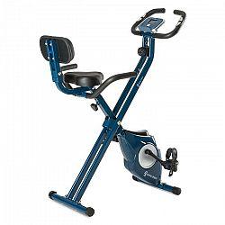 Capital Sports Azura M3, bicykel na domáci tréning, do 100 kg, merač tepu, sklápací, 3 kg, modrý