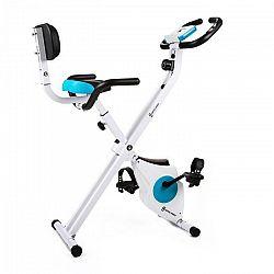 Capital Sports Azura M3, domáci cyklotrenažér, chrbtová opierka, bocné držadlá, sklápací, 100 kg