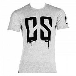 Capital Sports Beforce, veľkosť M, sivé, tréningové tričko, pánske