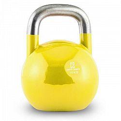 Capital Sports Compket 16, žltý, 16 kg, súťažný kettlebell, guľatá činka