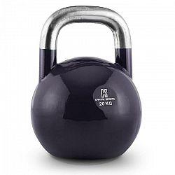 Capital Sports Compket 20, tmavomodrý, 20 kg, súťažný kettlebell, guľatá činka