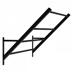 Capital Sports Dominant Edition, Monkey Ladder, posilňovací rebrík, čierny, 167 cm, oceľ