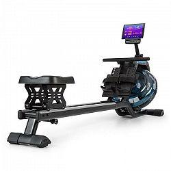 Capital Sports Flow M2, vodný veslovací trenažér, 80 cm, postaviteľný, LCD displej, oceľ, čierny