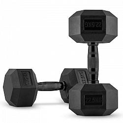 Capital Sports Hexbell, jednoručná činka, pár 2 x 22,5 kg