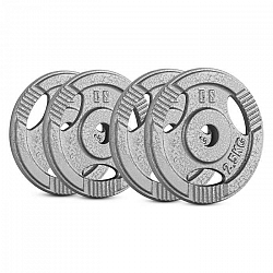 Capital Sports IP3H 10 kg Set, sada závaží na činky, 4 x 2,5 kg, 30 mm