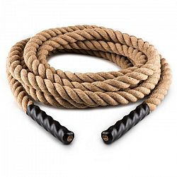 Capital Sports Power Rope, posilňovacie lano, 12 m, 3,8 cm Ø, konope