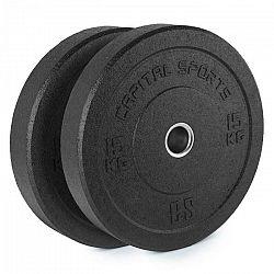 Capital Sports Renit, hi temp gumový kotúč, 50,4 mm, hliníkové jadro, guma, 2 x 15 kg