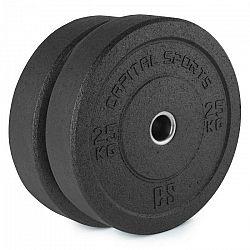 Capital Sports Renit, hi temp gumový kotúč, 50,4 mm, hliníkové jadro, guma, 2 x 25 kg