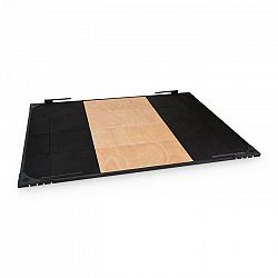 Capital Sports Smashboard, Weightlifting Platform, čierna, 2 x 2,5 m, oceľ, meranti preglejka