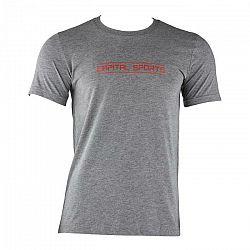Capital Sports tréningové tričko pre mužov, sivé melírované, veľkosť S