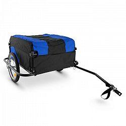 DURAMAXX Mountee závesný vozík na bicykel, 130l, čierno-modrý, oceľový rám