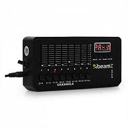 Efektový controller Beamz DMX-512 Mini, batéria, XLR, 64 DMX