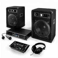 Electronic-Star Bass Boomer, USB PA systém, 400 W, systém so zosilňovačom, reproduktormi a kabelážou